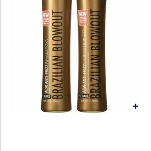 Brazilian blowout shampoo and condition